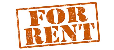 Renting out